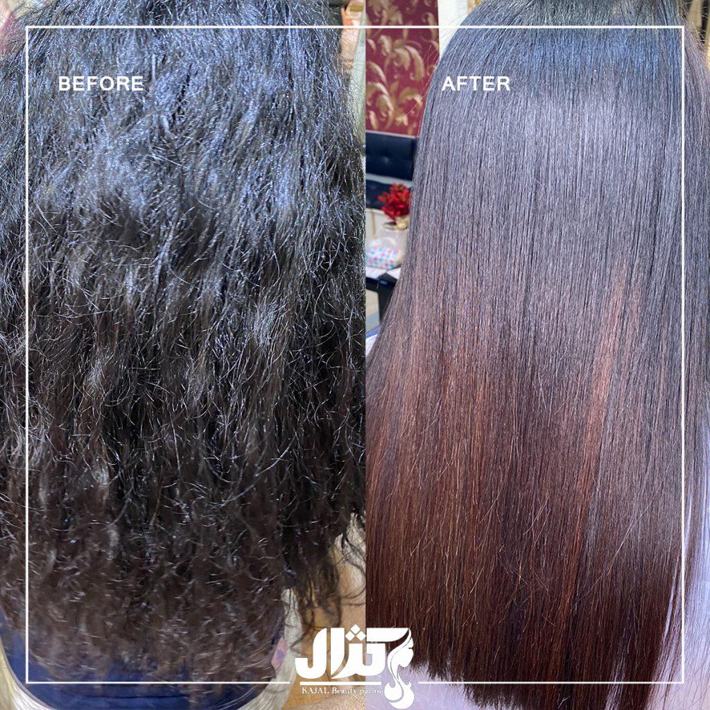 مراحل حفظ مو پس از کراتینه